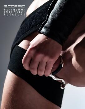 JockRing © SCORPIO perineum sling - silvertone