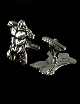 Nude Male sculpture cufflinks Laocoon