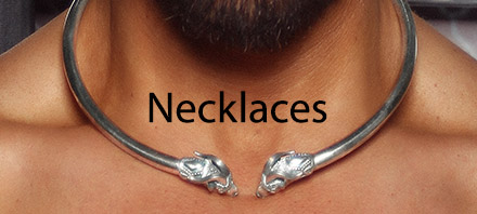 esculptapendants and necklaces for men