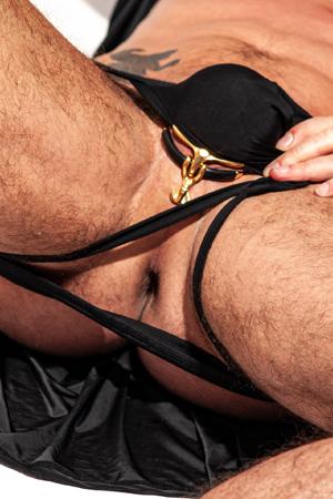 Bulge boosting penis ring add-on