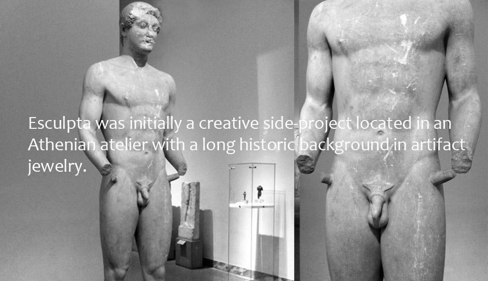 History of Esculpta jewelry