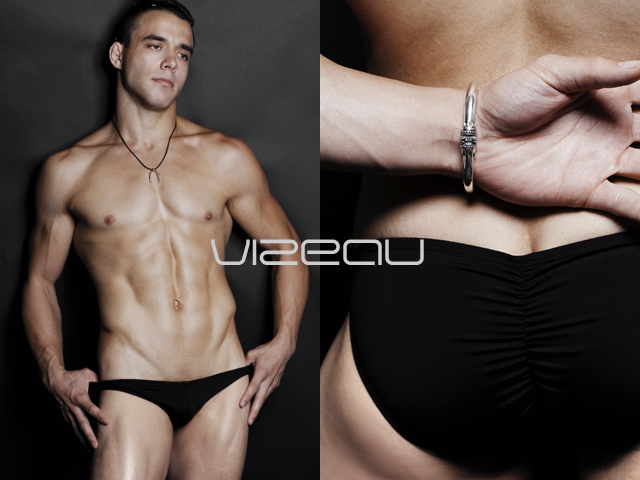 Men's swimwear by vizeau