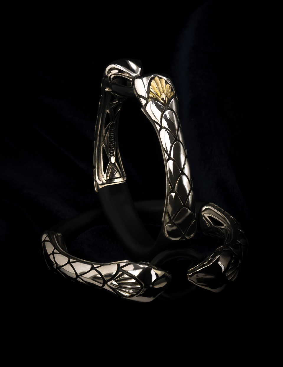 Innovative Snake cock ring. Penis jewelry by esculpta