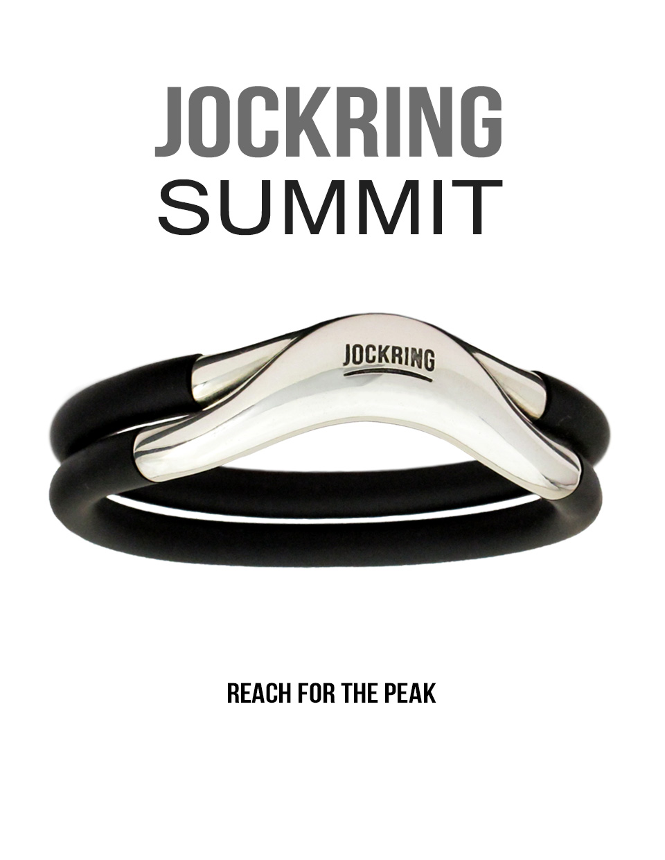 Jockring Summit - Sterling silver