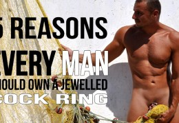 5 reasons every man should own a jewelled cock ring.