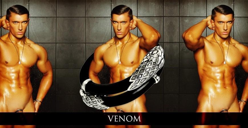 "New luxury cock ring launch. Venom: the ""dangerous"" penis jewel"